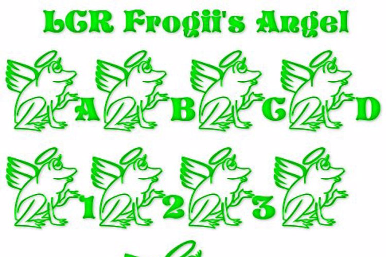 LCR Frogii's Angel Font