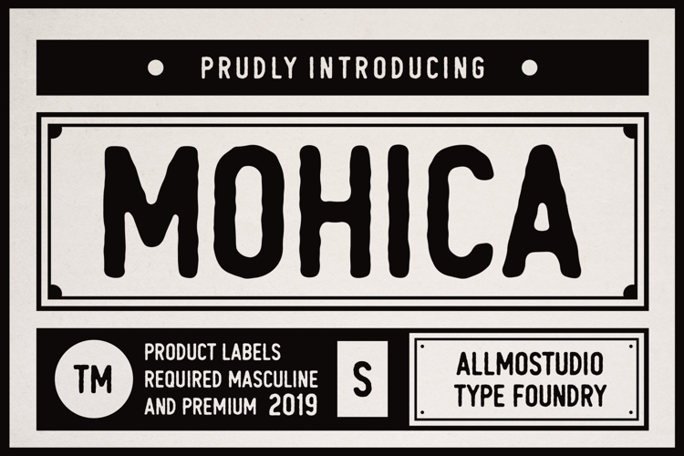 Mohica Demo Font
