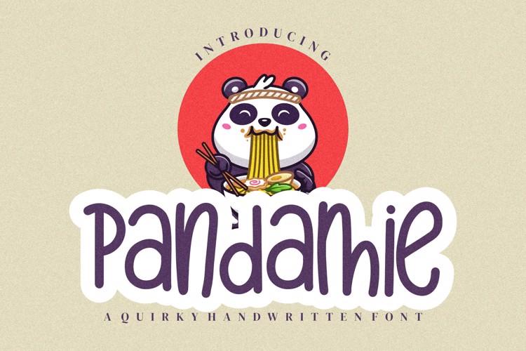 Pandamie Font