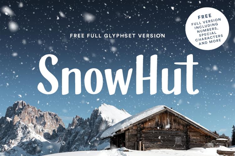 SnowHut Font