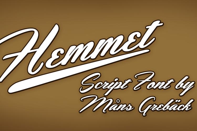 Hemmet Font
