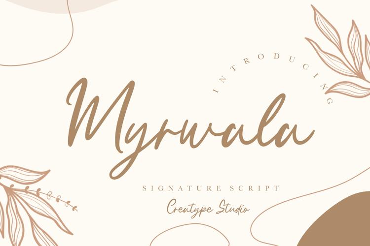 Myrwala Font
