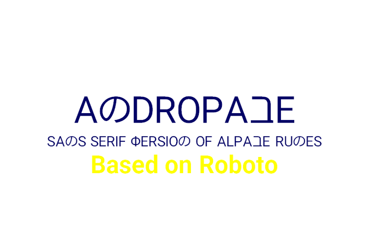 Andropabe Font