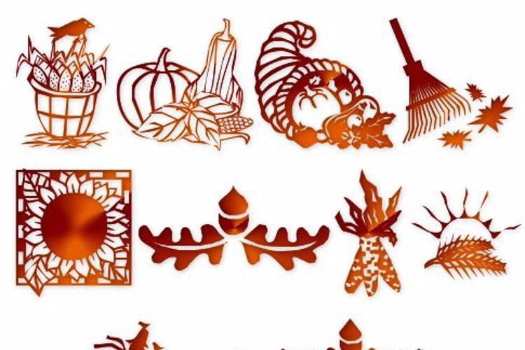 LCR Autumn Harvest Dings Font