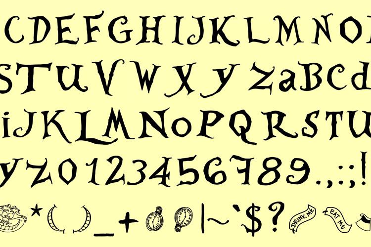WhereisAlicedemo Font