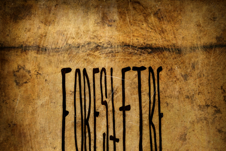 ForestFire Font