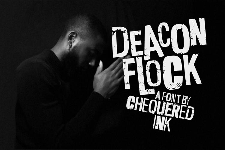 Deacon Flock Font