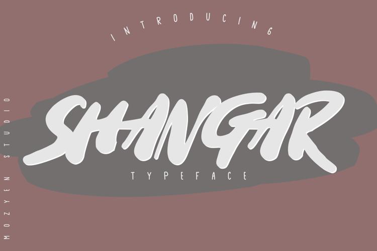 Shangar Font