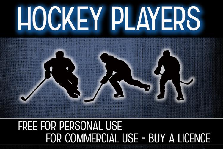 CF Hockey Players Font