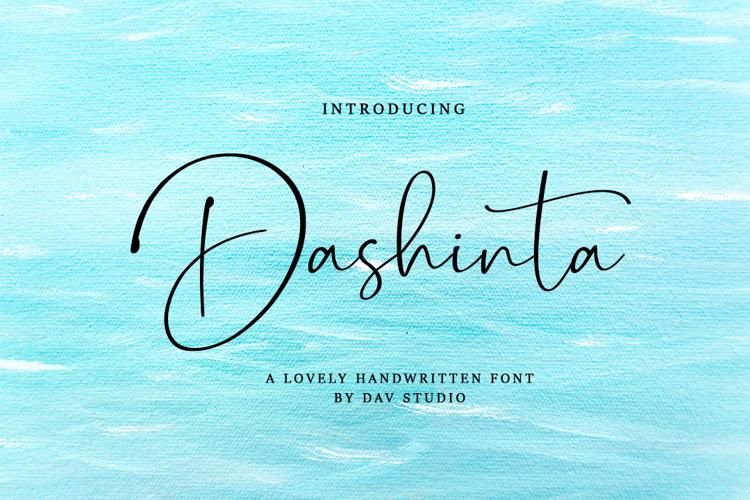 Dashinta Font