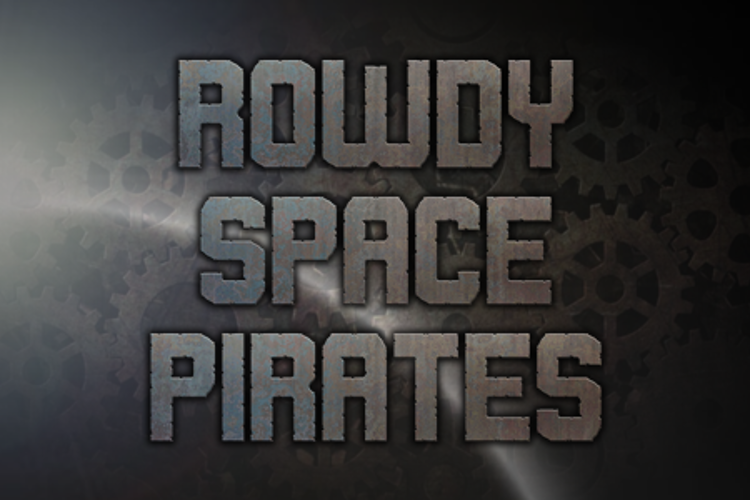 Rowdy Space Pirates Font