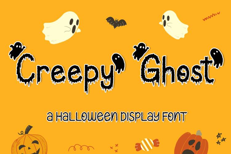 Creepy Ghost Font