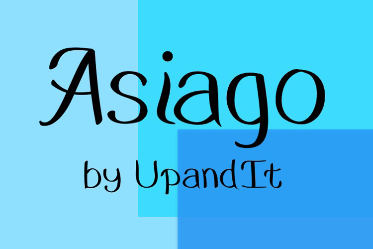 Asiago Font
