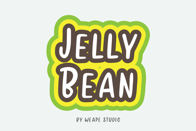 Jelly Bean Sans Font