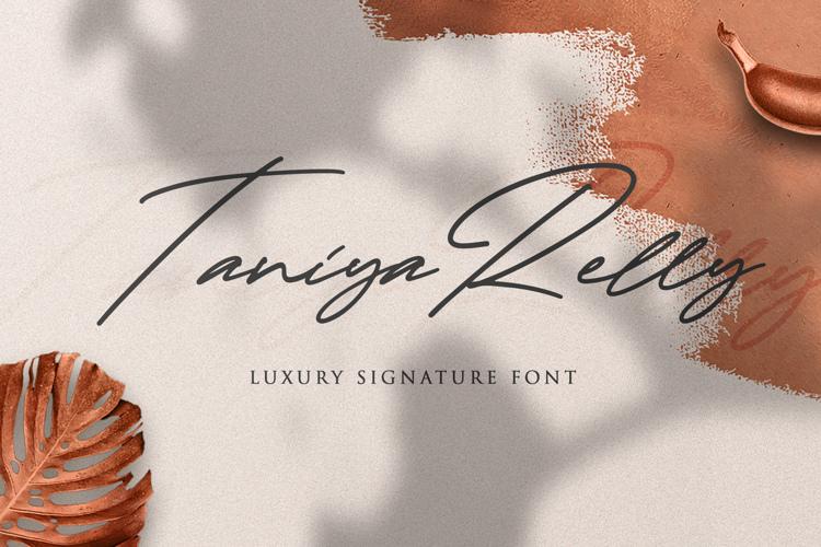 Taniya Relly Font
