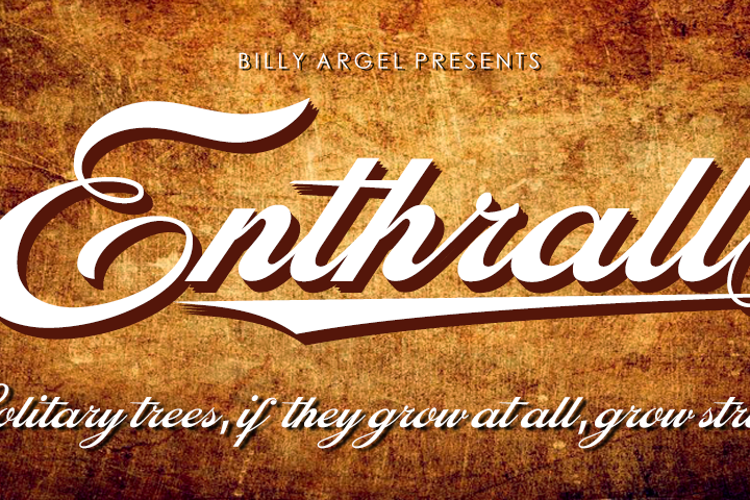 Enthrall Font