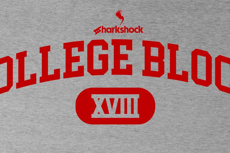 College Block Font