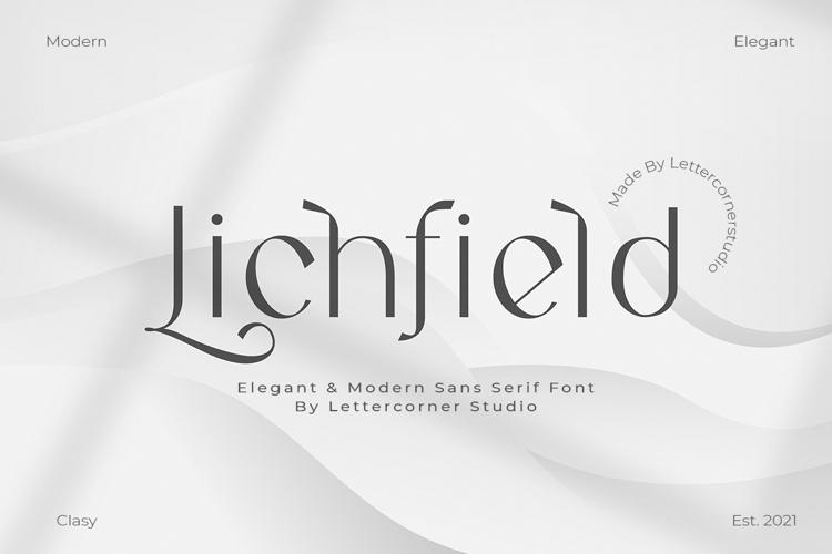 Lichfield Font