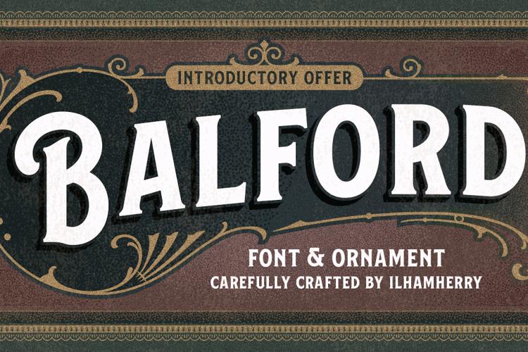 Balford Font