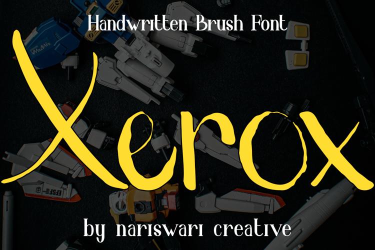 xerox Font