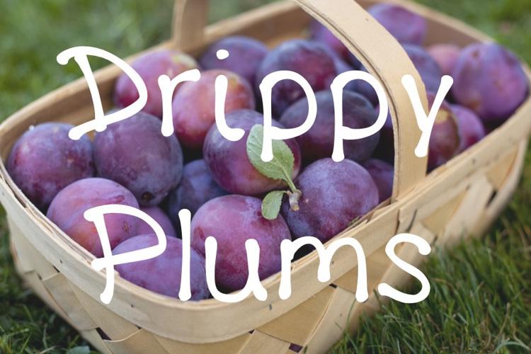 DrippyPlums Font
