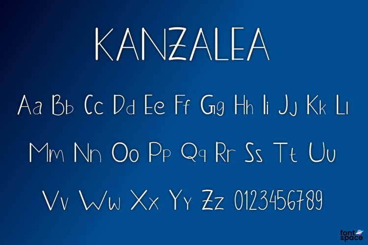 KANZALEA Font