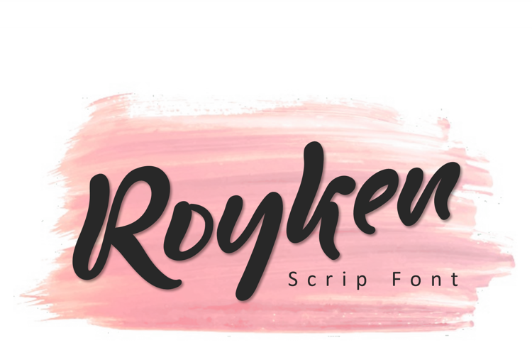 Royken Font