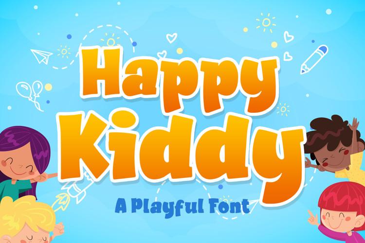 Happy Kiddy Font