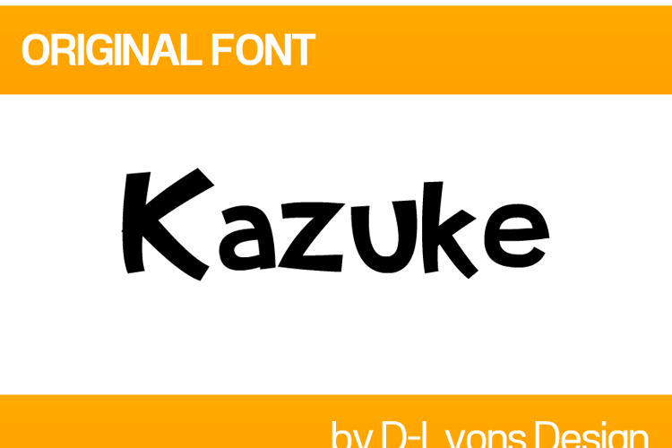 Kazuke Font