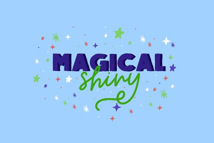 Magical Shiny Script Font