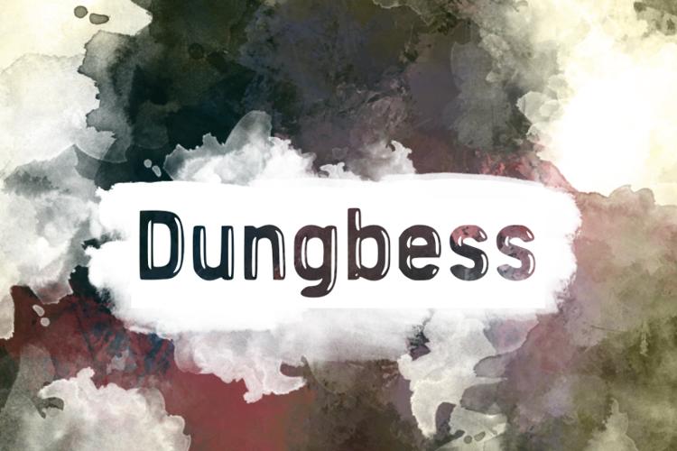 d Dungbess Font