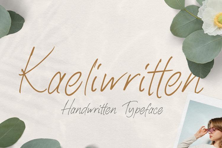 Kaeliwritten Font