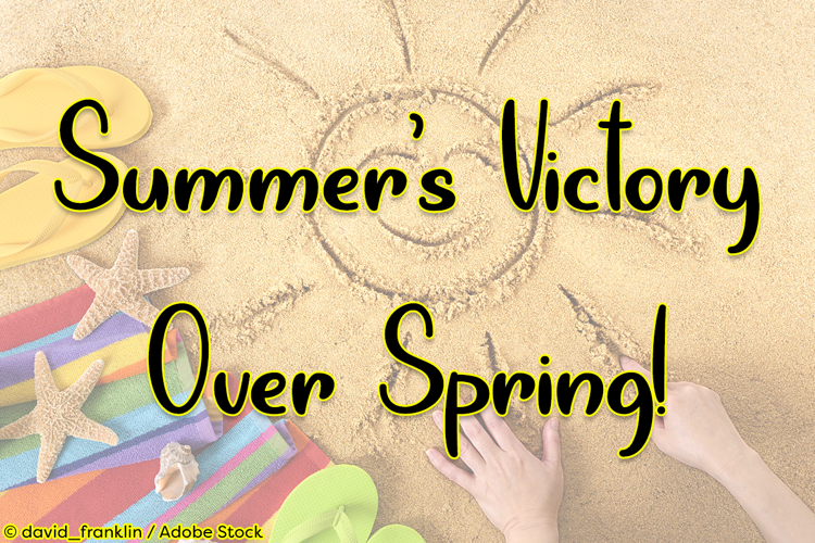 Summers Victory Over Spring Font