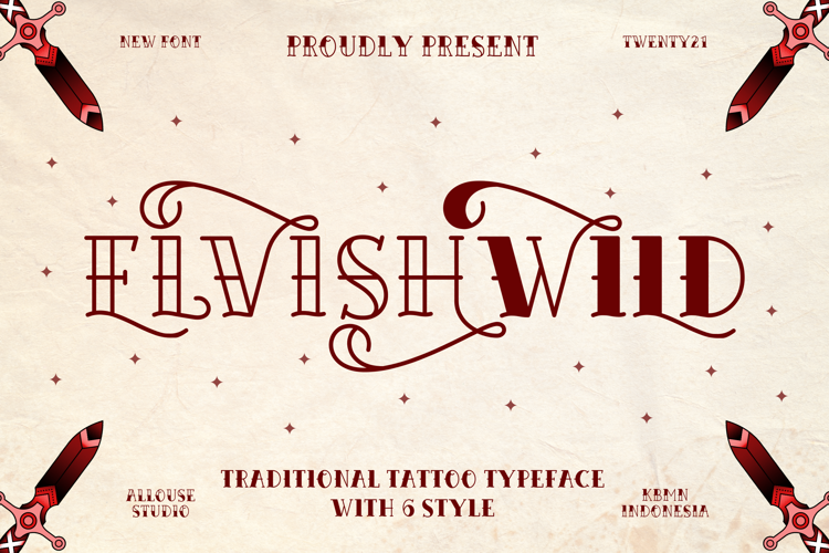 Elvishwild Version Font