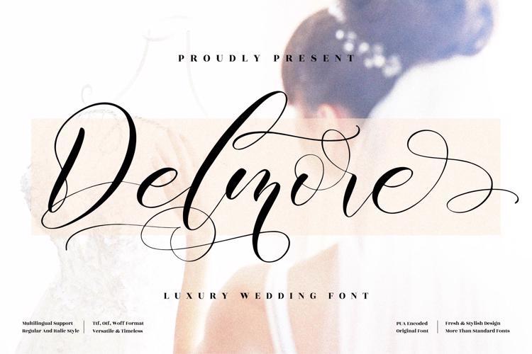 Delmore Font