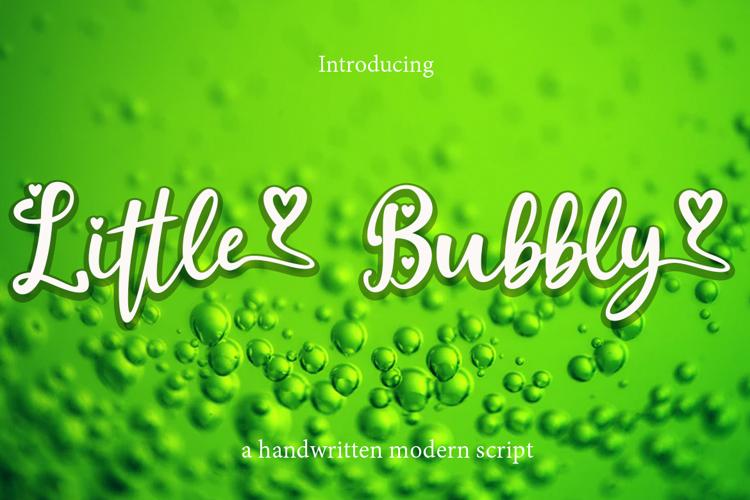 Little Bubbly Font
