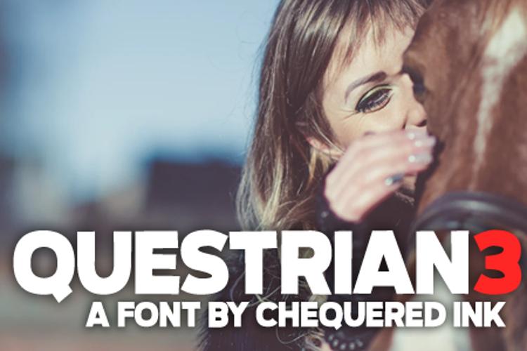 Questrian 3 Font
