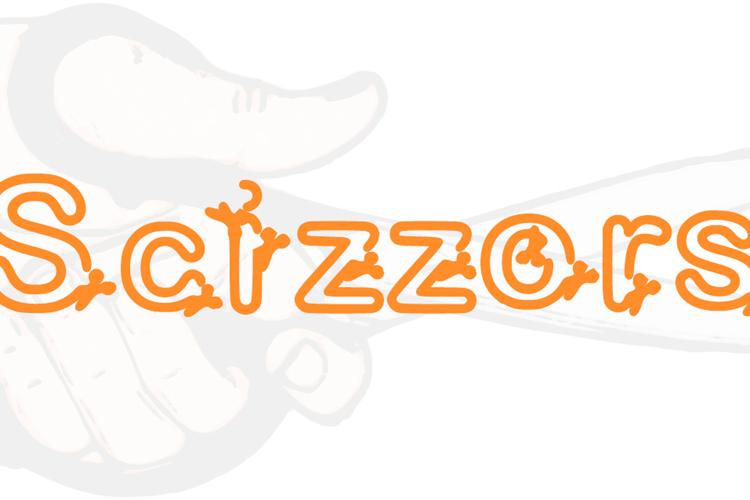 Scizzors Font