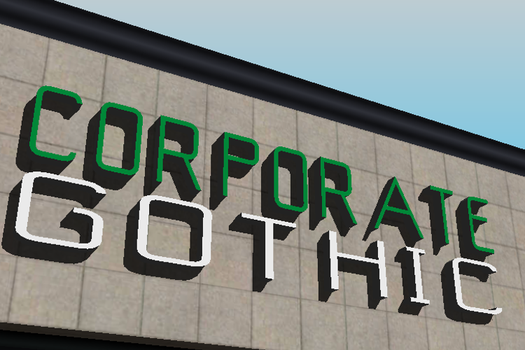 Corporate Gothic NBP Font