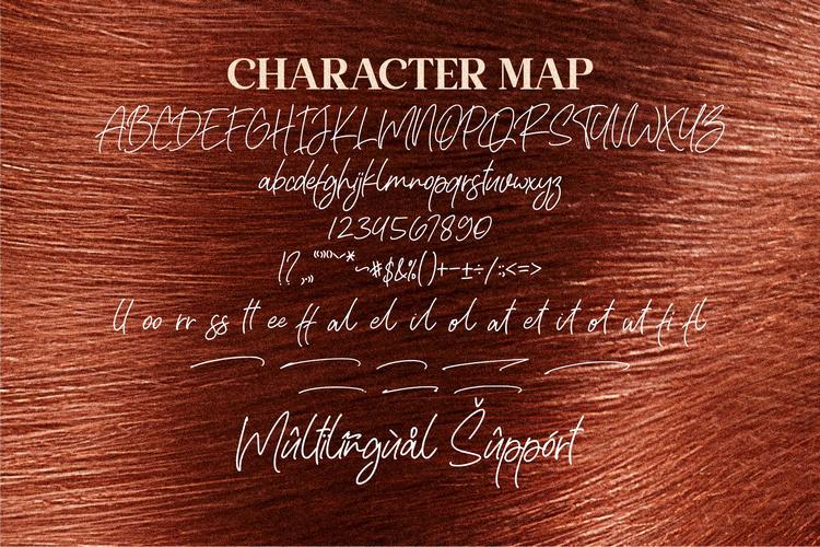 Rafaella Signature Font