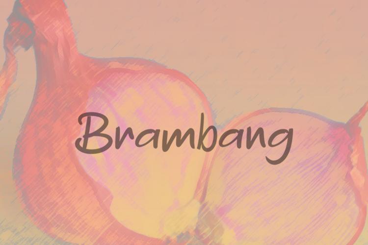 b Brambang Font
