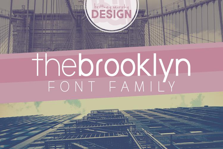 the brooklyn Font