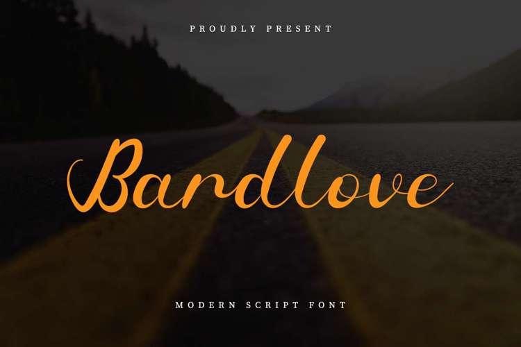 Bardlove Font