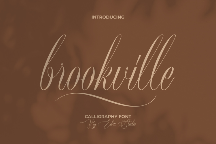 Brookville Font