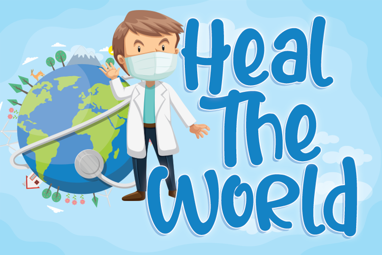 Heal The World Font