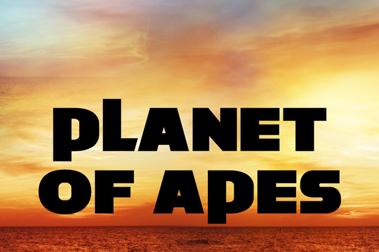 Planet of Apes Font