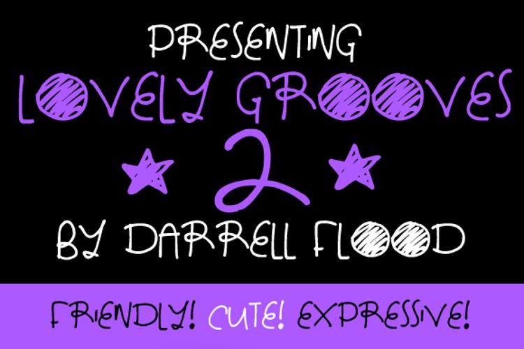 Lovely Grooves 2 Font