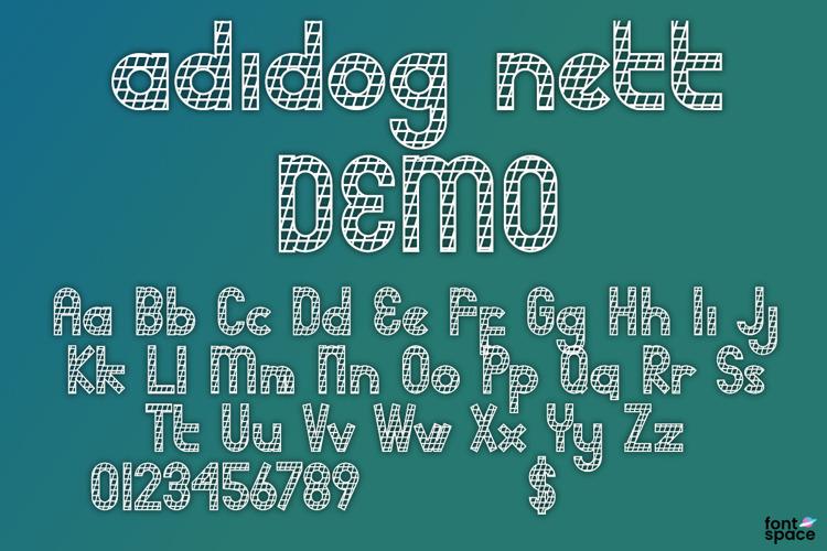 adidog Font