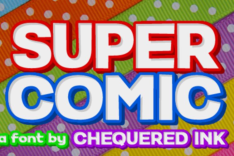 Super Comic Font
