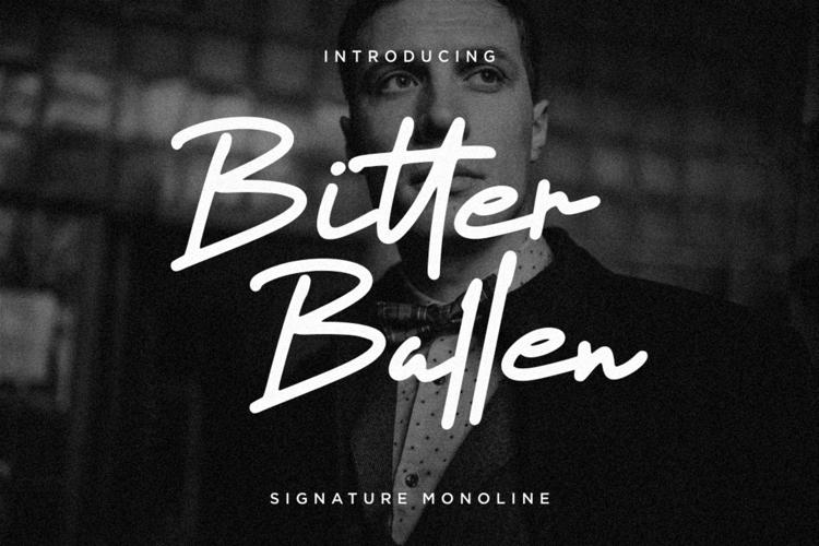 Bitter Ballen Font